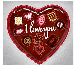 Santa Monica Valentine's Chocolate