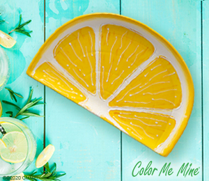 Santa Monica Lemon Wedge