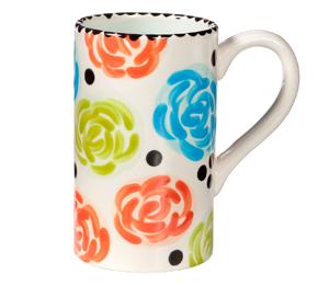Santa Monica Simple Floral Mug