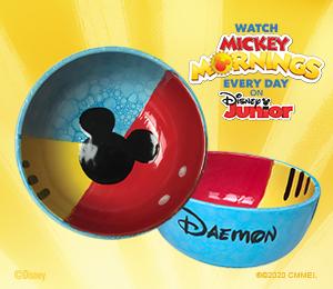 Santa Monica Mickey's Bubble Bowl