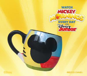Santa Monica Mickey's Bubble Mug