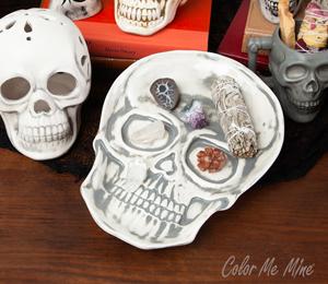 Santa Monica Vintage Skull Plate